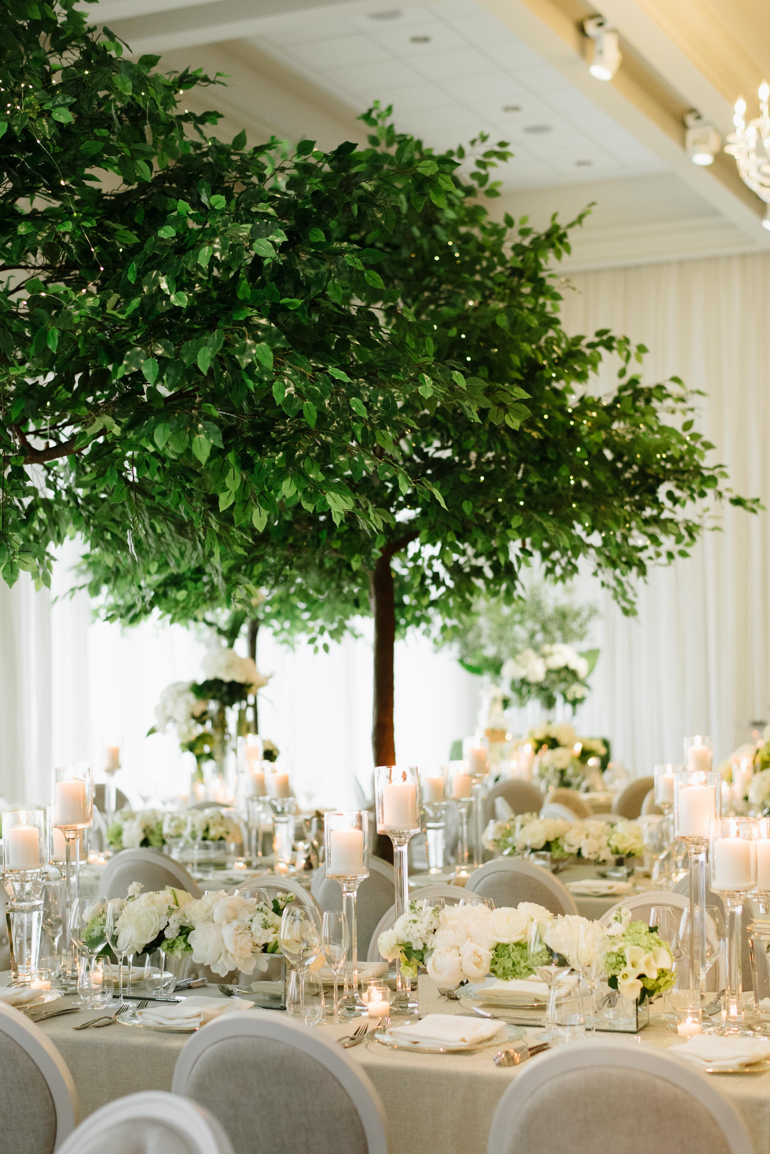 Royal Wedding Inspired Garden Wedding Reception at Arlington Estate