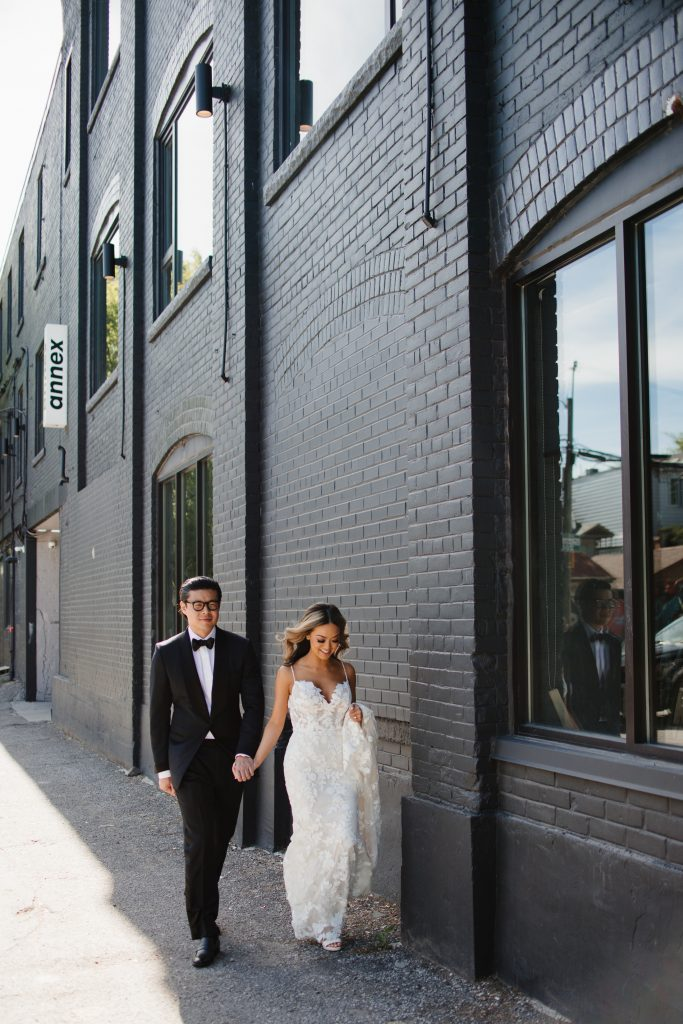 Wedding photos at the Annex Hotel