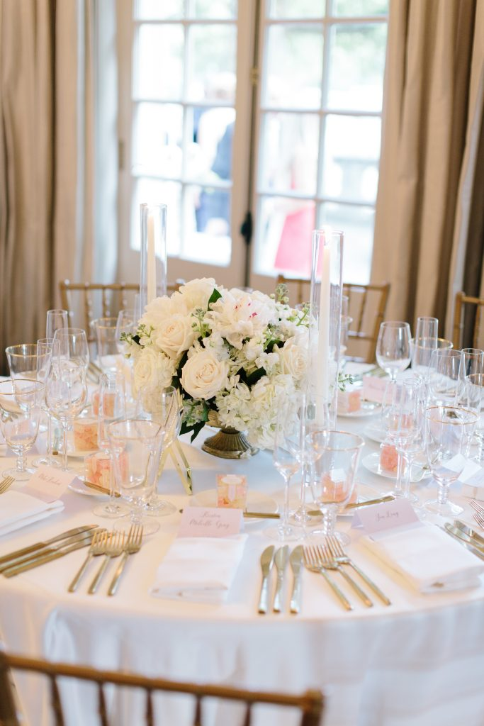 White wedding at Graydon Hall Manor