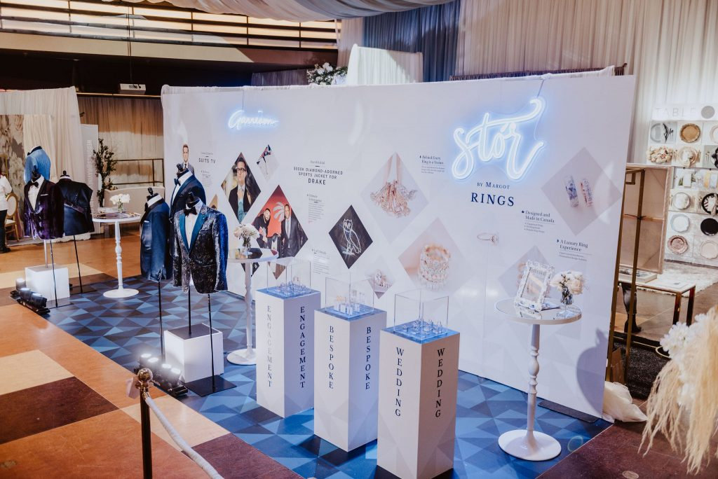 Wedluxe Show 2020 - Garrison Bespoke and Stor by Margot