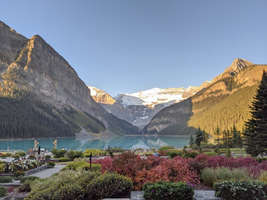 Lake Louise and Banff Honeymoon Guide - Views from Fairmont Lake Louise