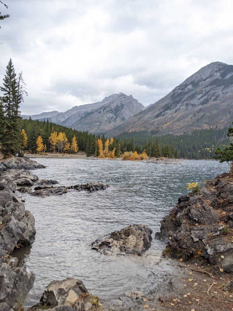 Lake Louise and Banff Honeymoon Guide - Take in views at Lake Minnewanka
