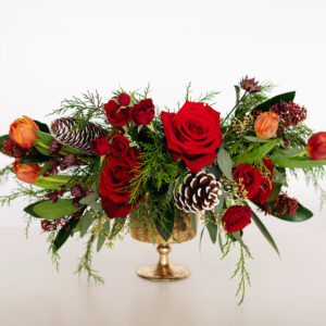 Rustic Red Holiday Arrangement