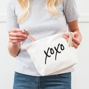 XOXO Canvas Makeup Bag